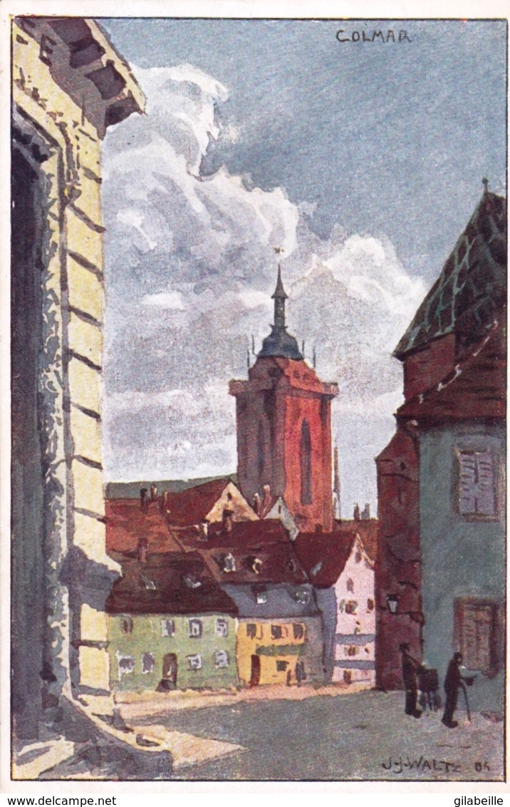 Illustrateur - J J WALTZ - HANSI - COLMAR - Alsace - - Hansi