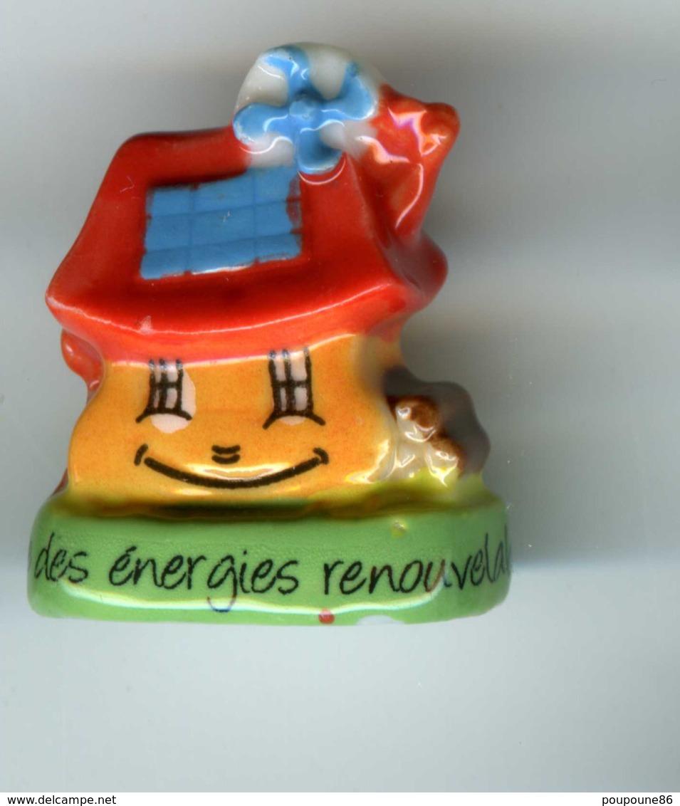 """FEVE  - FEVES -   """"PRESERVONS NOTRE PLANETE""""  2011  - J'UTILISE DES ENERGIES RENOUVELABLES - Hadas (sorpresas)"""