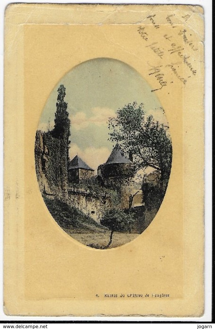 35 - FOUGERES - RUINES DU CHATEAU - Fougeres