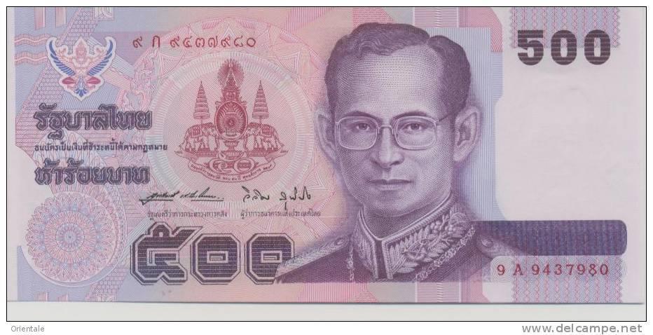 THAILAND P. 100 500 B 1996 UNC (s. 64) - Thaïlande