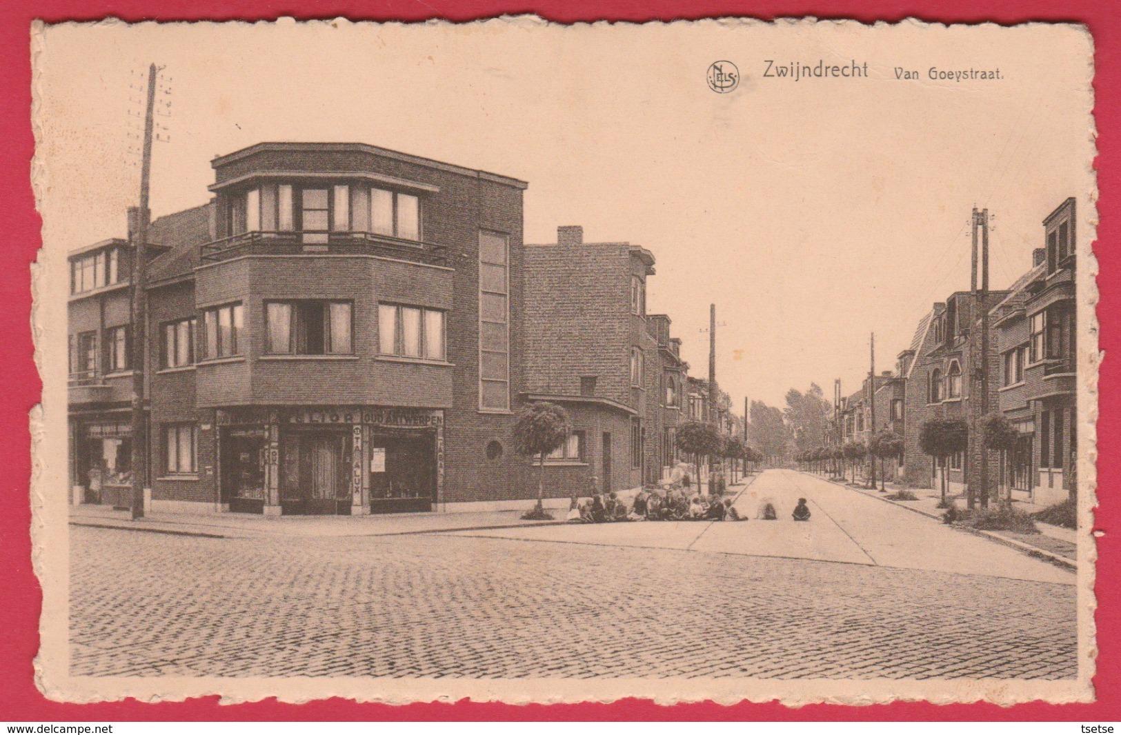 Zwijndrecht - Van Goeystraat  -1947 ( Verso Zien ) - Zwijndrecht