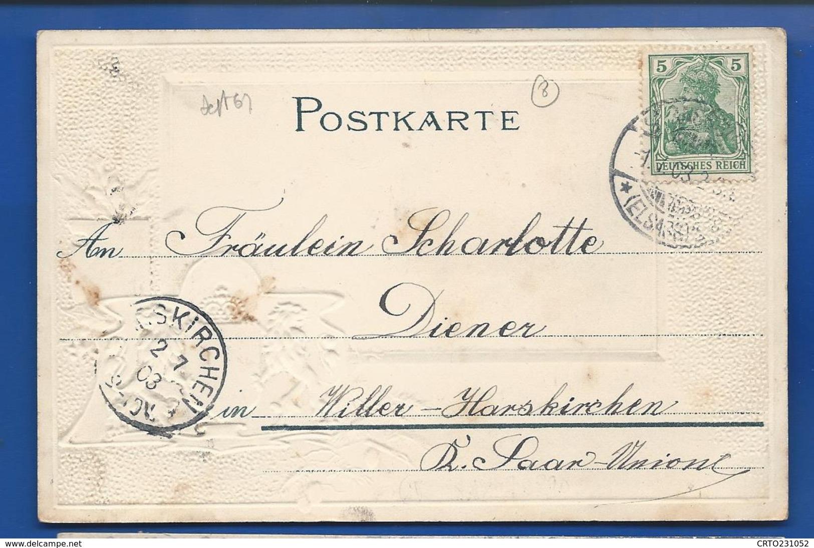 STRASSBURG  Gutenbergplatz      écrite En 1903 - Strasbourg