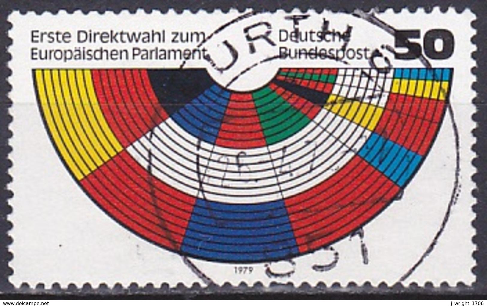 FRG/1979 - Mi 1002 - 50 Pf - USED/'FÜRTH 6' - [7] Federal Republic