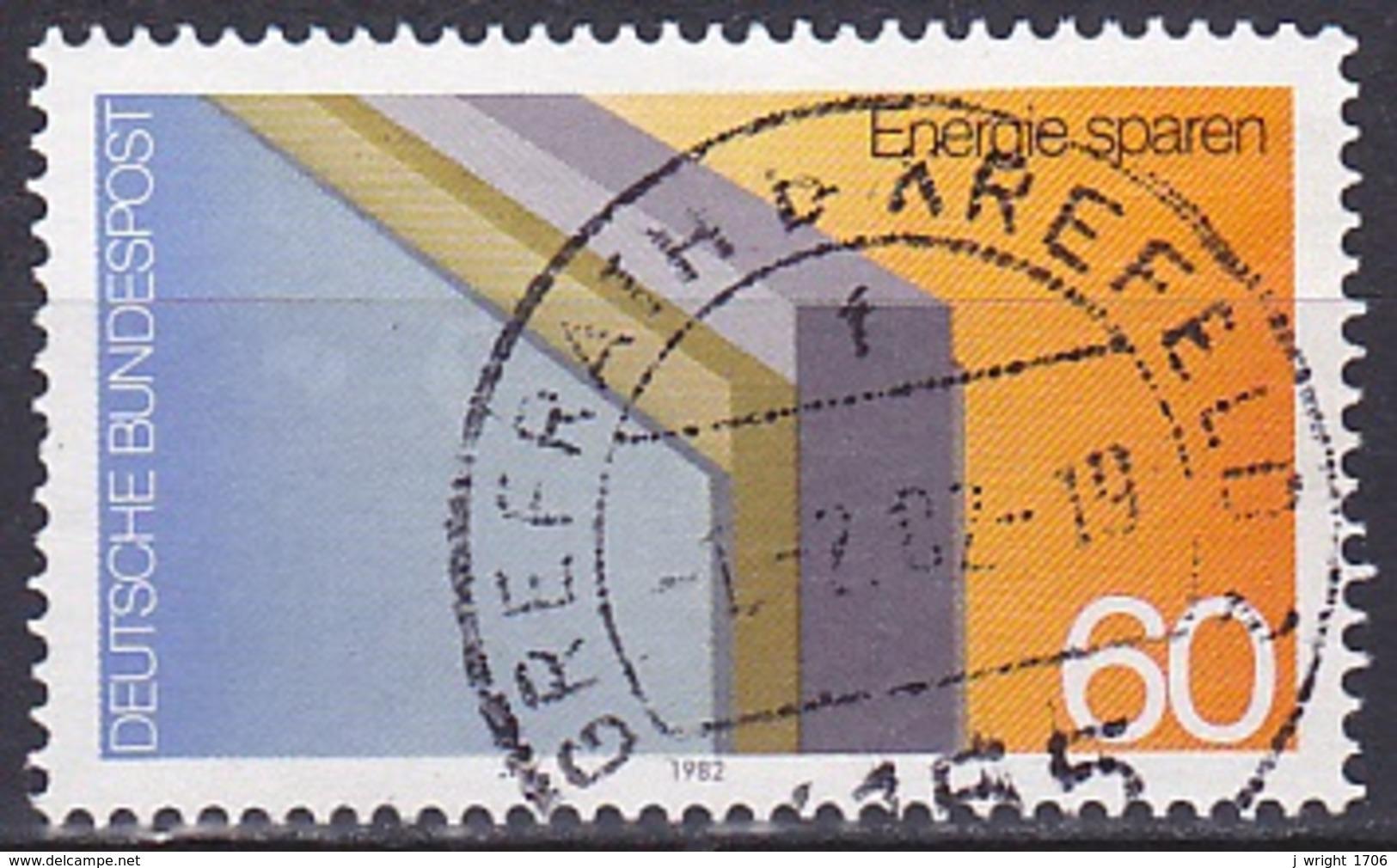 FRG/1982 - Mi 1119 - 60 Pf - USED/'GREFRATH B. KREFELD 2' - [7] Federal Republic