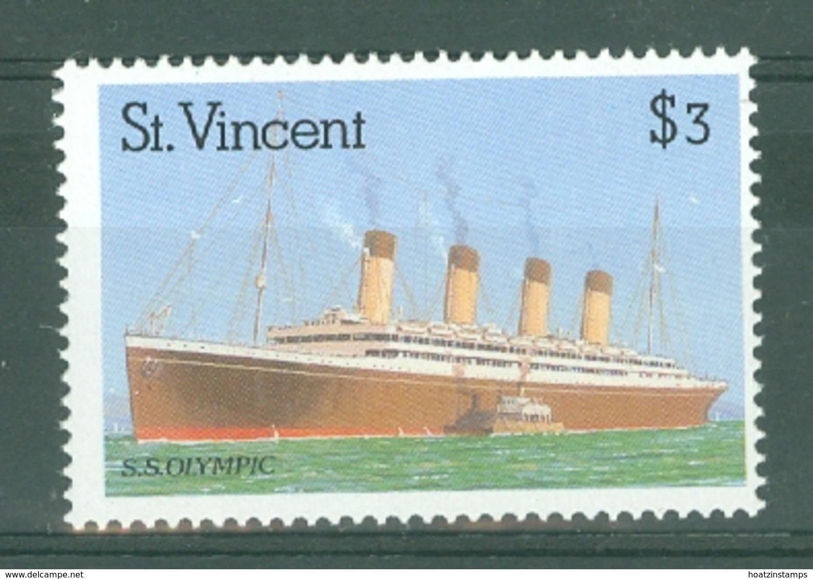 St Vincent: 1989   Ocean Liners    SG1227    $3      MNH - St.Vincent (...-1979)