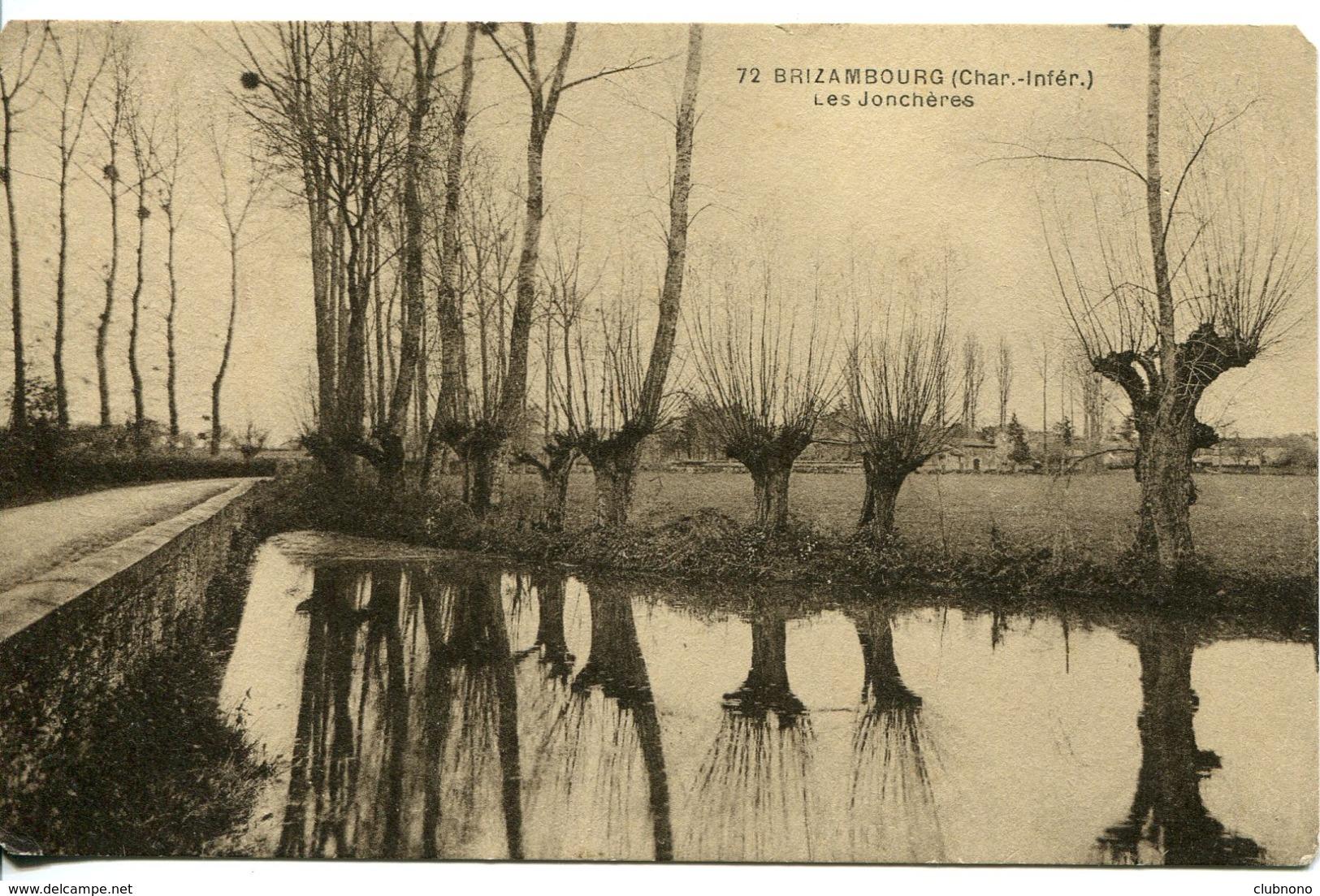 CPA -  BRIZAMBOURG - LES JONCHERES - France