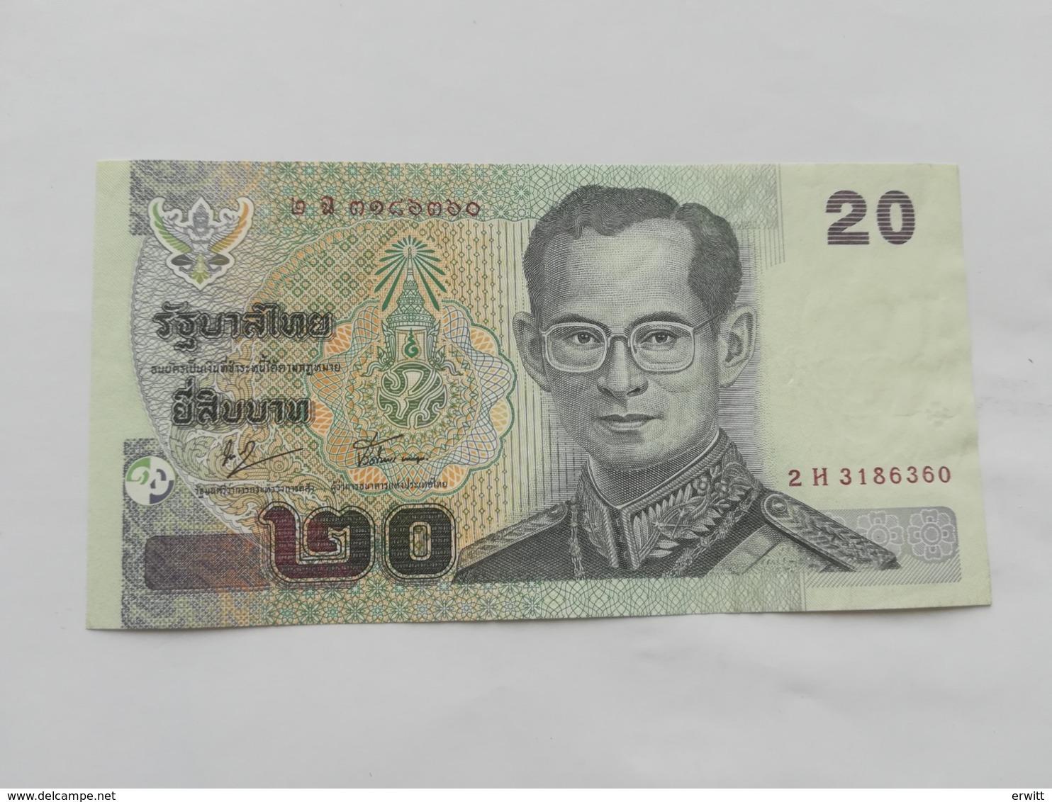 TAILANDIA 20 BATH - Thailand