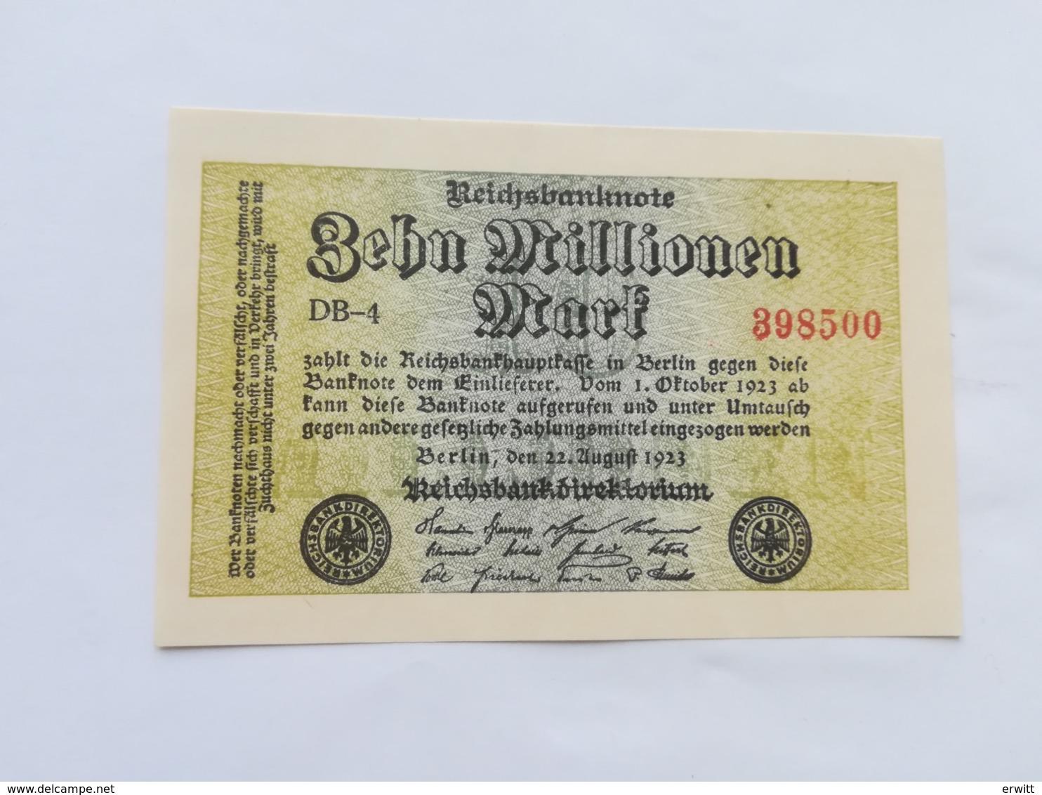 GERMANIA 5 MILLIONEN MARK 1923 - [ 3] 1918-1933 : Repubblica  Di Weimar