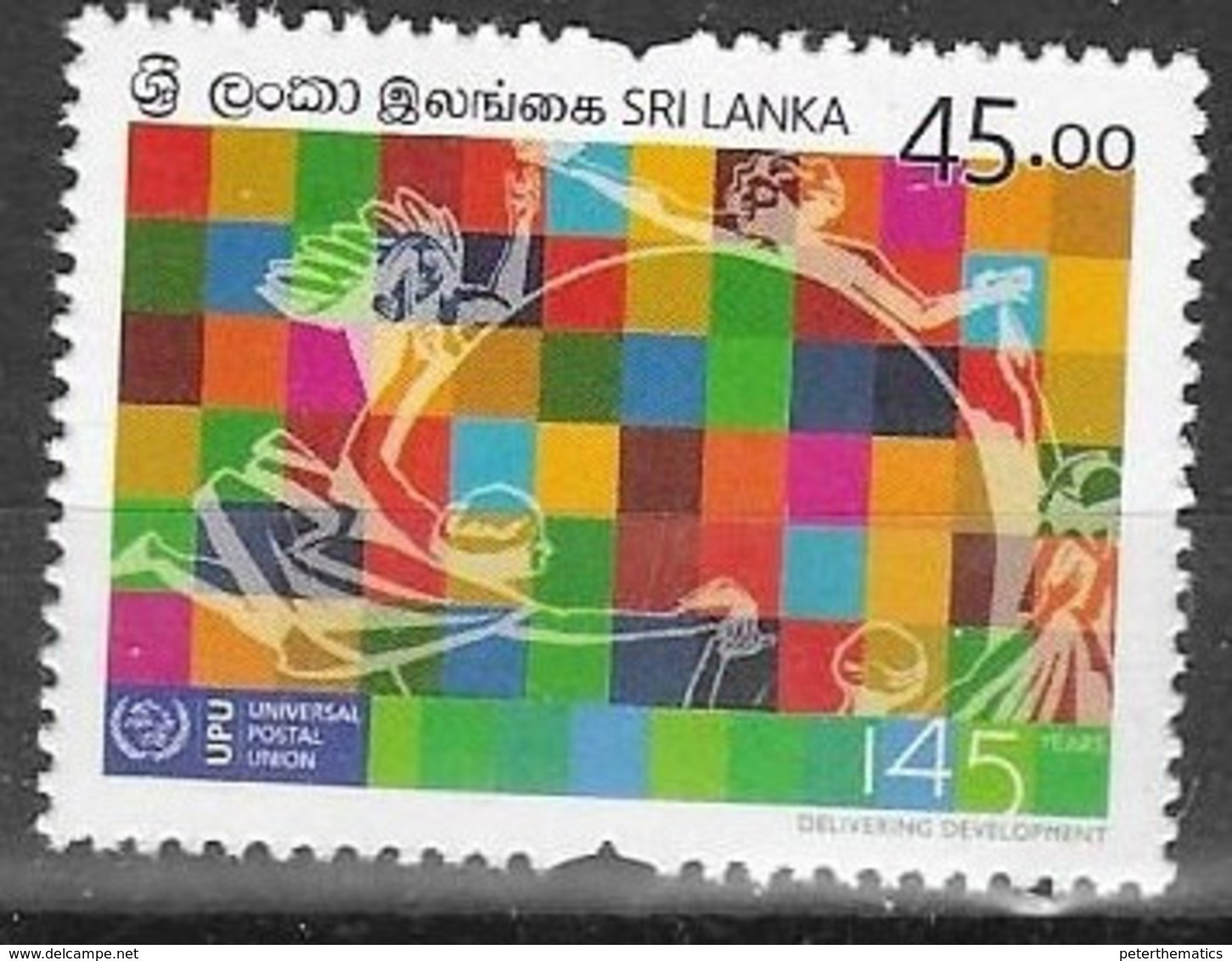 SRI LANKA , 2019, MNH,  UPU, POST, 1v - UPU (Union Postale Universelle)