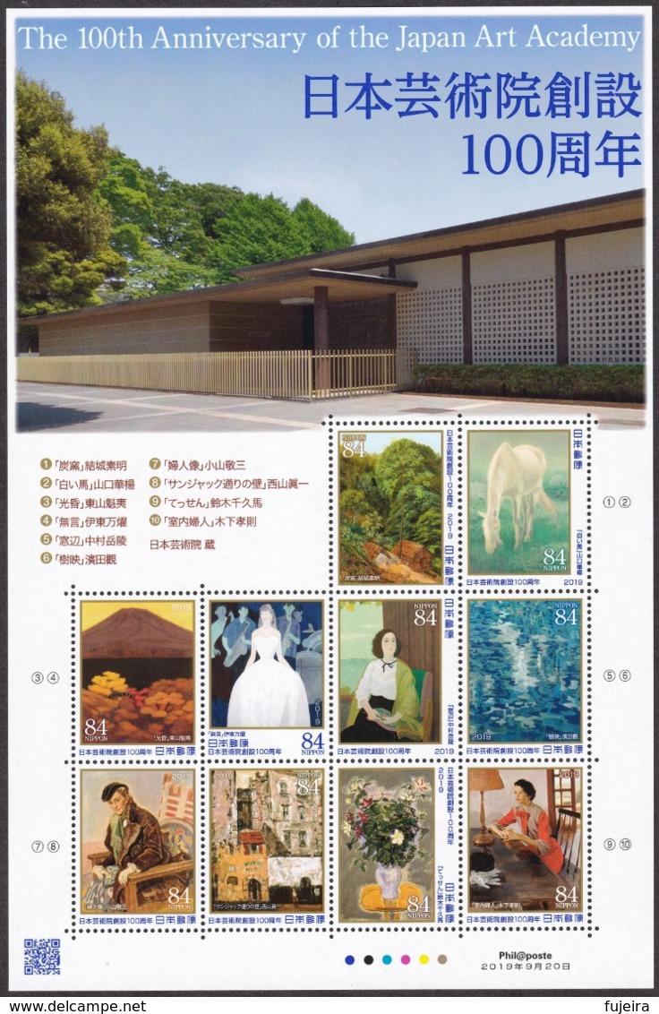 (ja1320) Japan 2019 Art Academy MNH Painting - 1989-... Imperatore Akihito (Periodo Heisei)