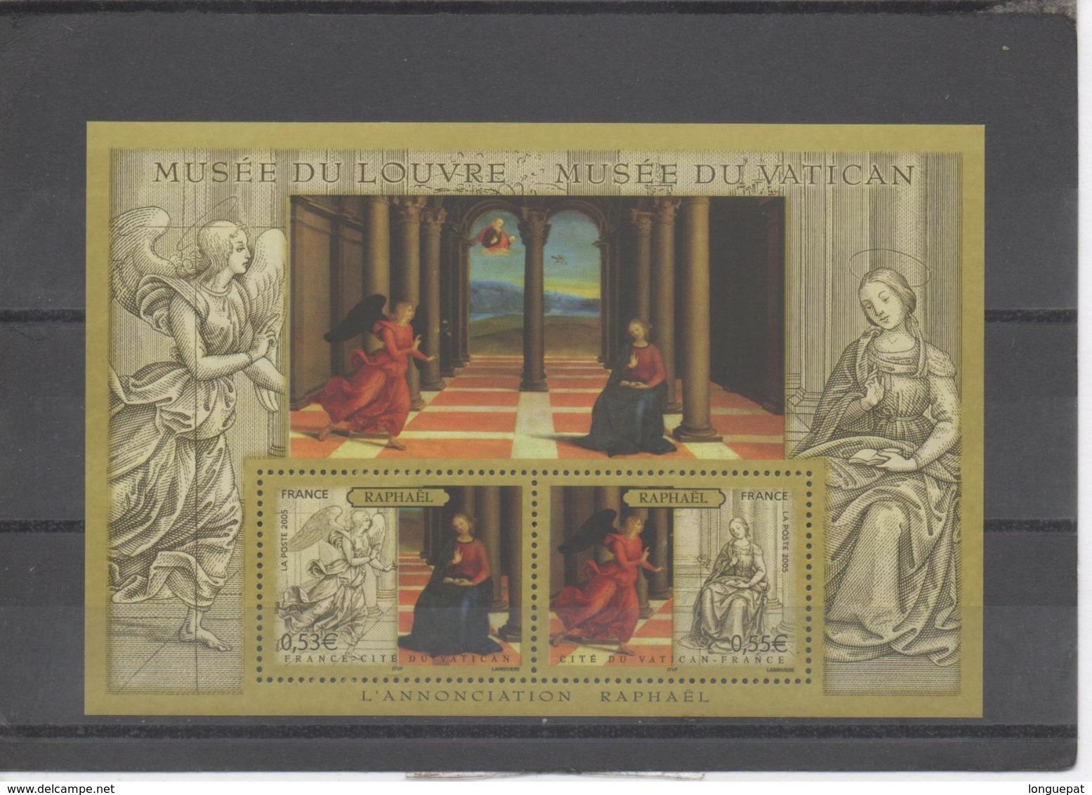 """FRANCE  - Art - Peintre - RAPHAËL, Peintre Italien """"L'Annonciation"""" : Ange Gabriel - Franz. Revolution"""