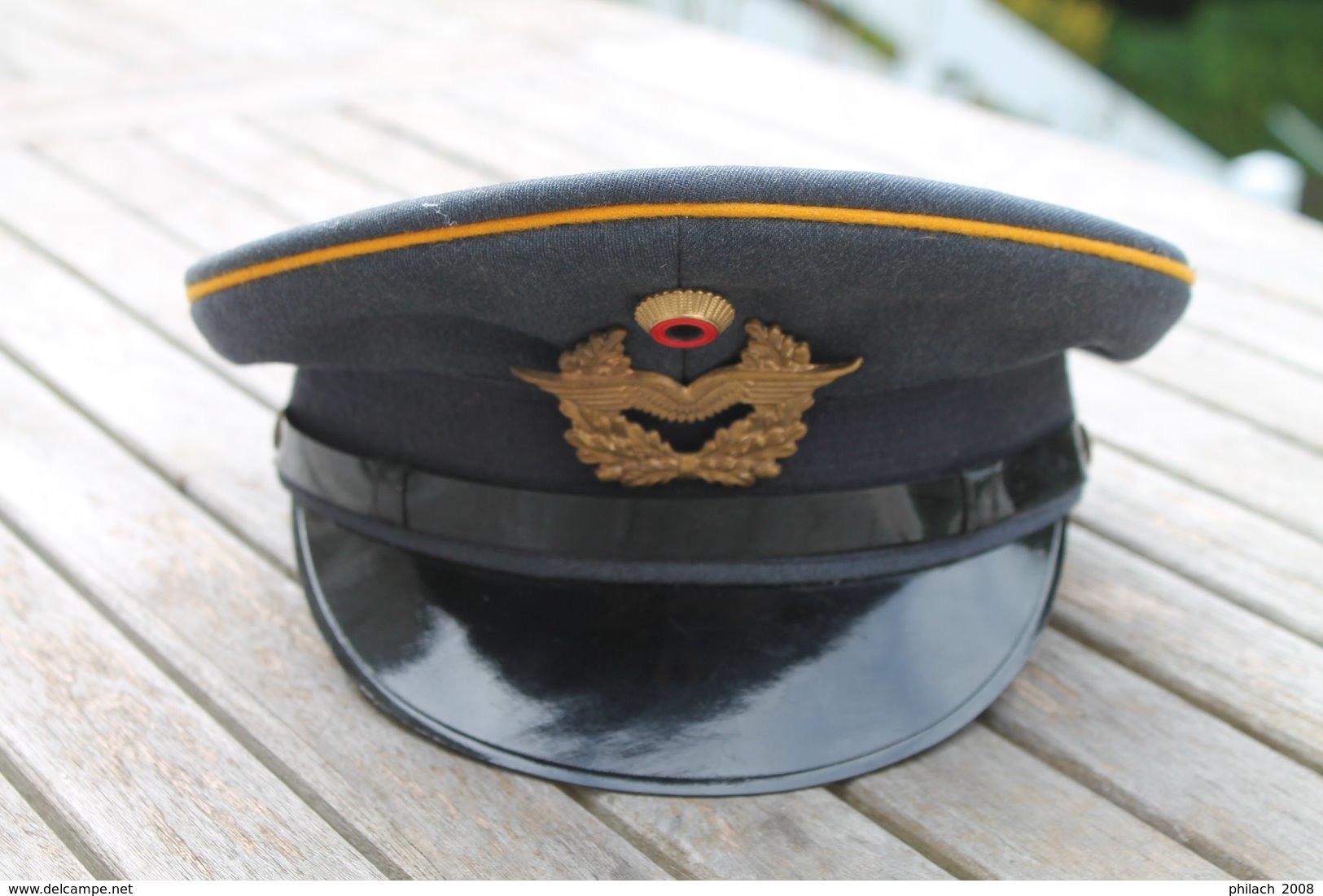 Casquette Allemande Luftwaffe - Cascos