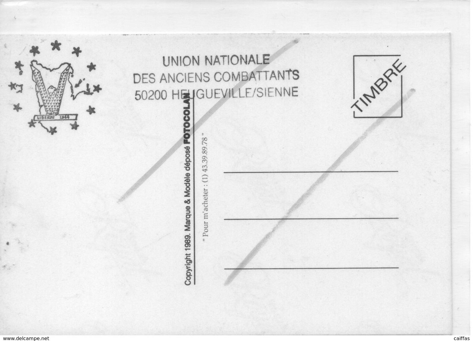 HEUGUEVILLE LE PONT DE LA ROQUE PASSAGE LE 29 JUILLET 1944 PAR LA 6° DBUS - Autres Communes