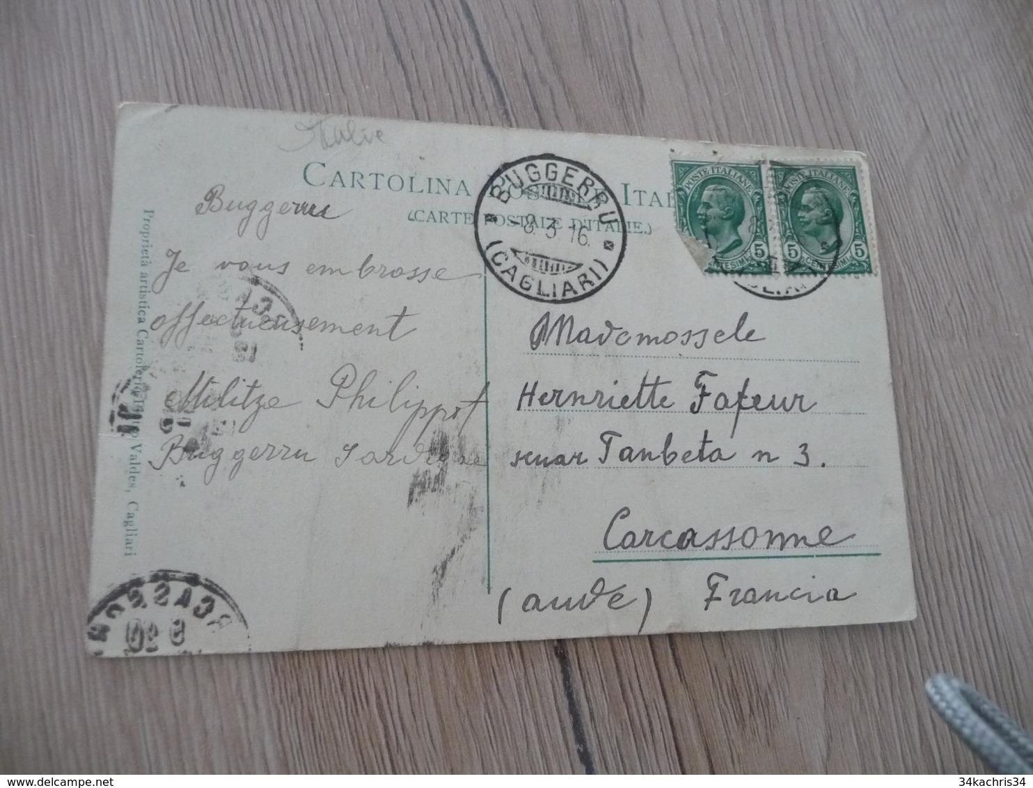 CPA Italie Italia Sardeigne Sardegna Nuraghe In Sardegna - Italia