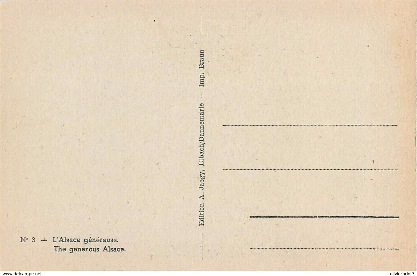 Fantaisie - 3 C.P.A. - La Fin Du Nazisme En Alsace - Weltkrieg 1939-45