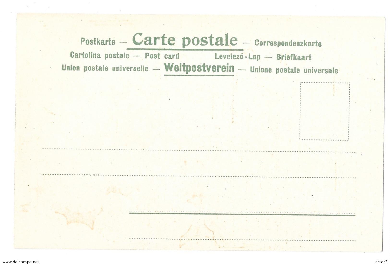 CPA ART NOUVEAU SOCKL VIENNE SERIE COQUETTE ROBE NOIRE RARE!!! - 1900-1949