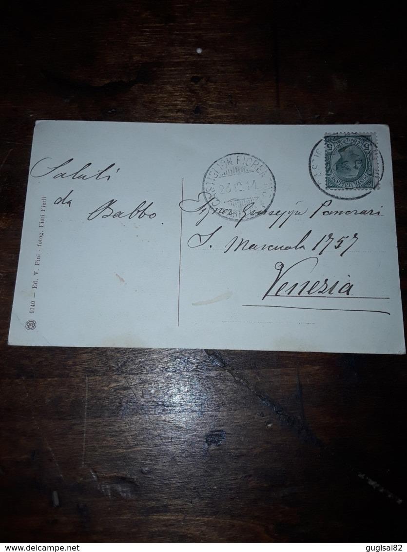 Cartolina Postale 1914 Castiglion Fiorentino, Castello Di Montecchio - Arezzo