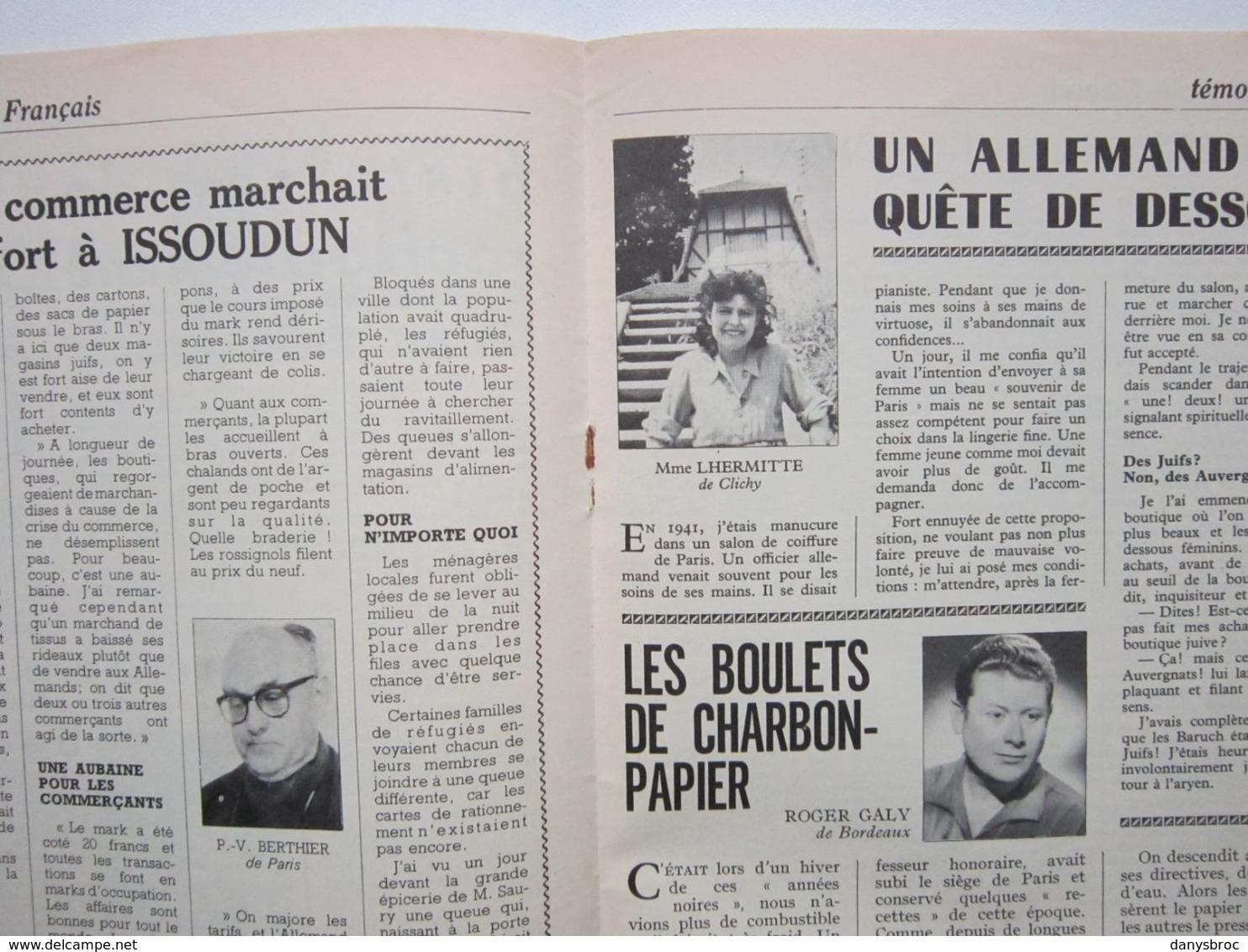 """LE JOURNAL DES FRANCAIS N°129 Les Années 40 """" AU HAVRE LA CHASSE AUX ECLATS """" Supplément Du Journal De La France - Other"""