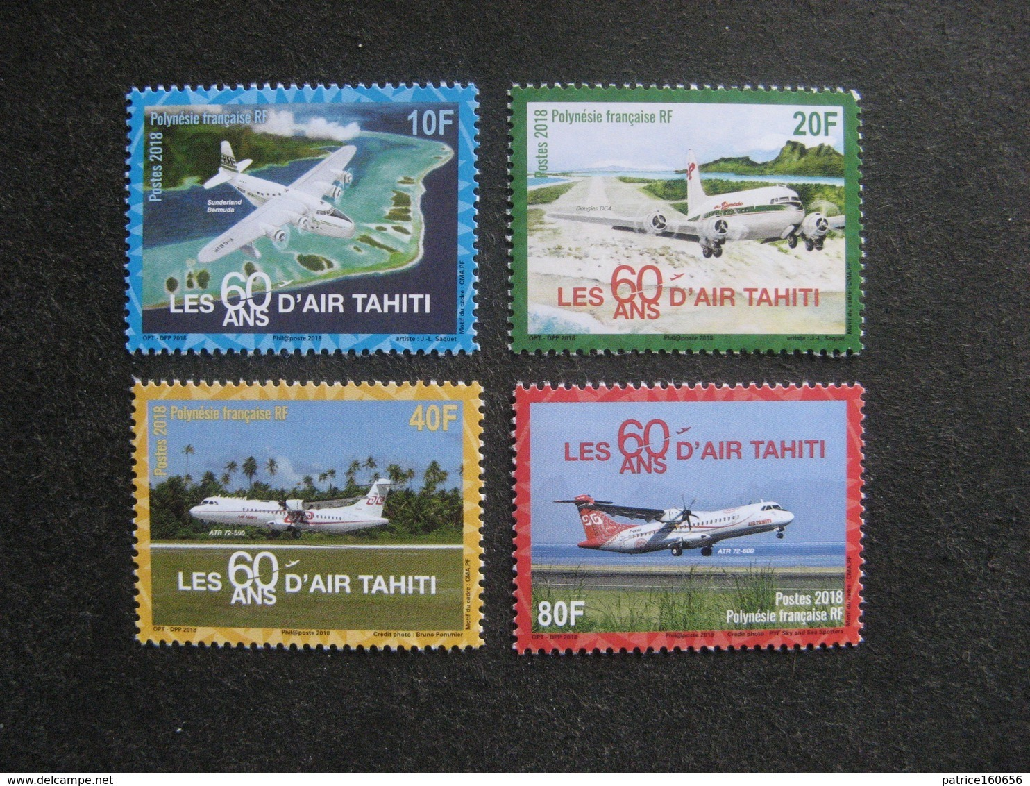 Polynésie: TB Série N° 1176 Au N° 1179 ,neufs XX . - Polynésie Française