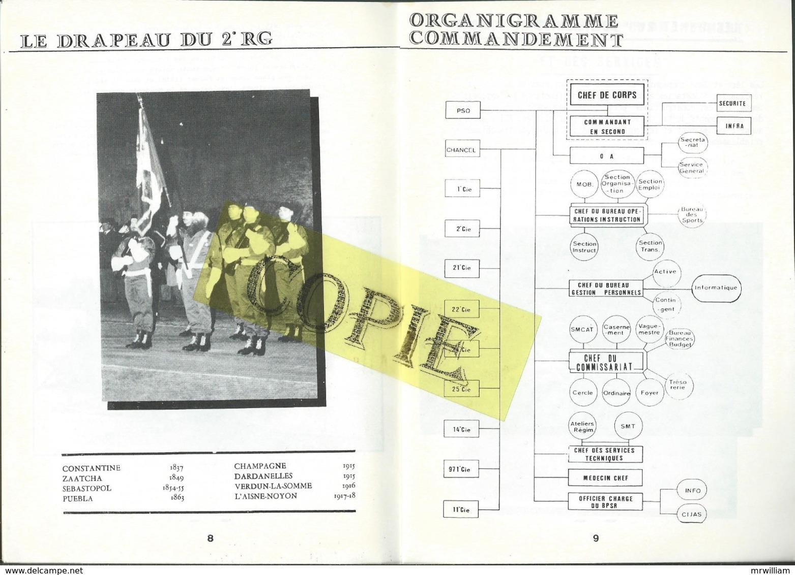 Livret Présentation Du 2eme Régiment Du Génie, METZ (57) - Libri, Riviste & Cataloghi