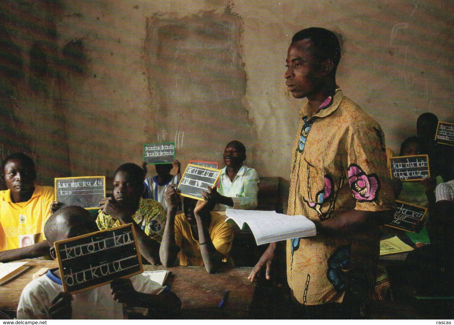 CPM - M - BURKINA FASO 2011 - COURS D'ALPHABETISATION POUR ADULTES - VILLAGE DE BEODOGO - OBJECTIF DEVELOPPEMENT - Burkina Faso