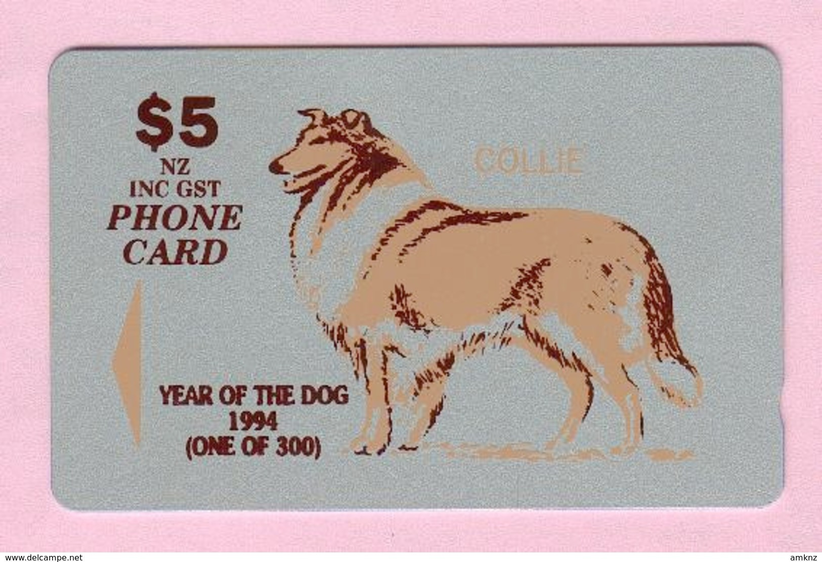 New Zealand - Private Overprint - 1994 Christchurch - $5 Year Of The Dog - Mint - NZ-CO-26a - Neuseeland