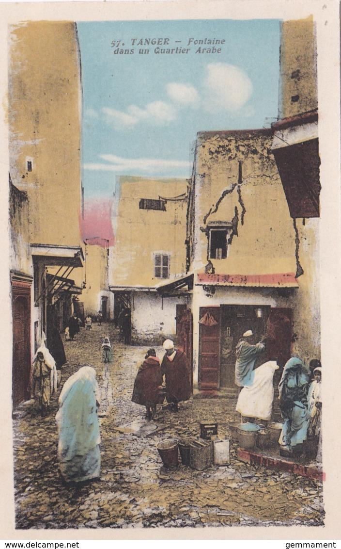 TANGER - FONTAINE DANS UN QUARTIER ARABE - Tanger