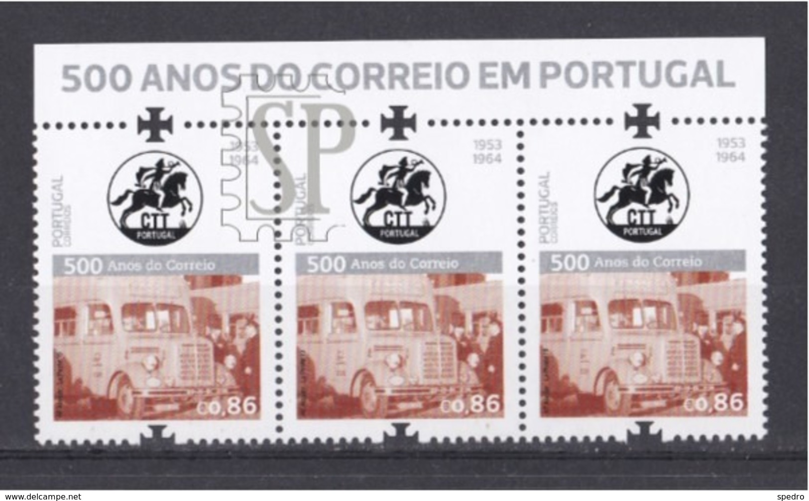 Portugal 2019 500 Anos Do Correio Post Services Posta Poste Courrier Philaposte Phil@poste Camion Truck - Correo Postal