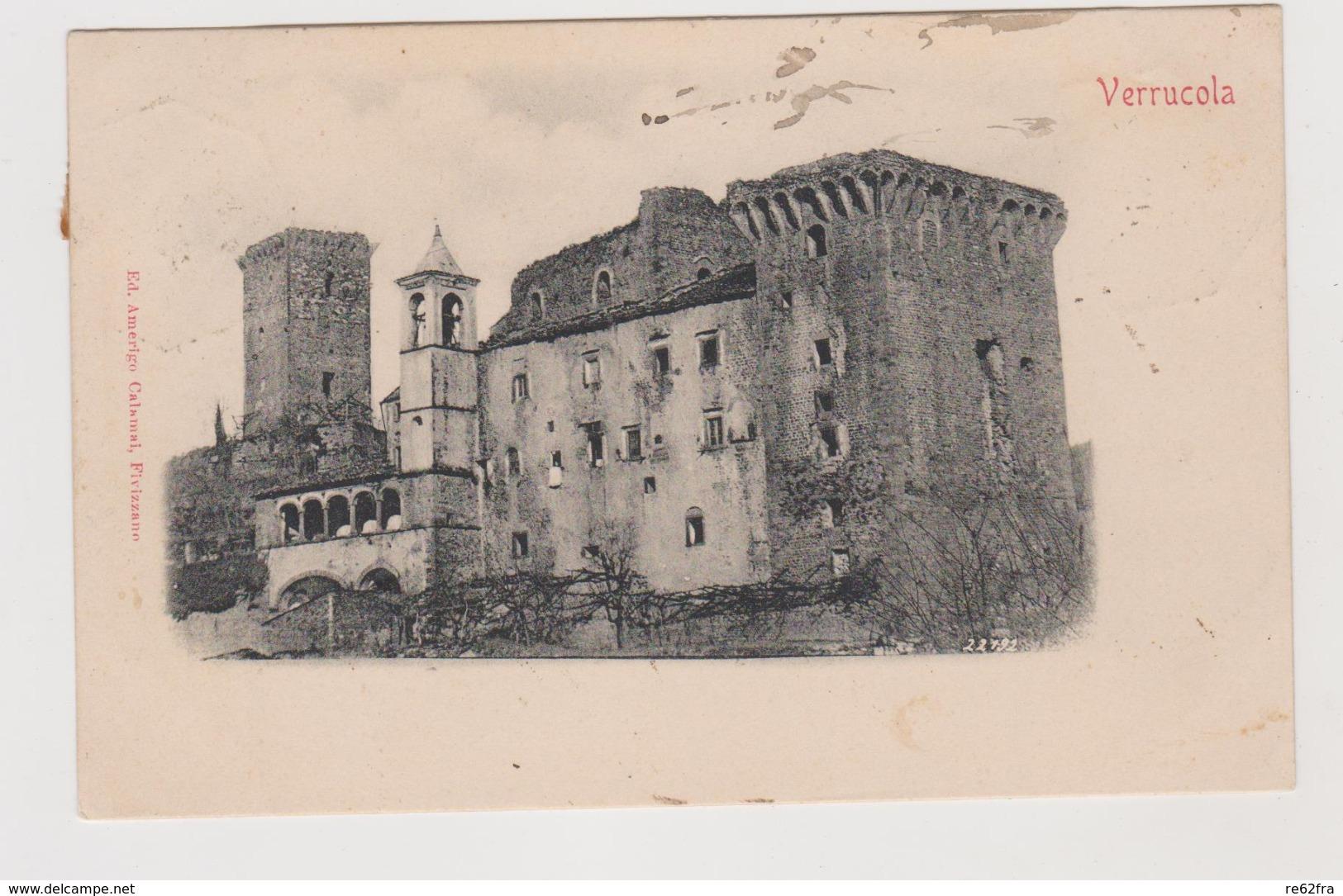 Verrucola (Fivizzano, MS) - F.p.- Fine '1800 - Carrara