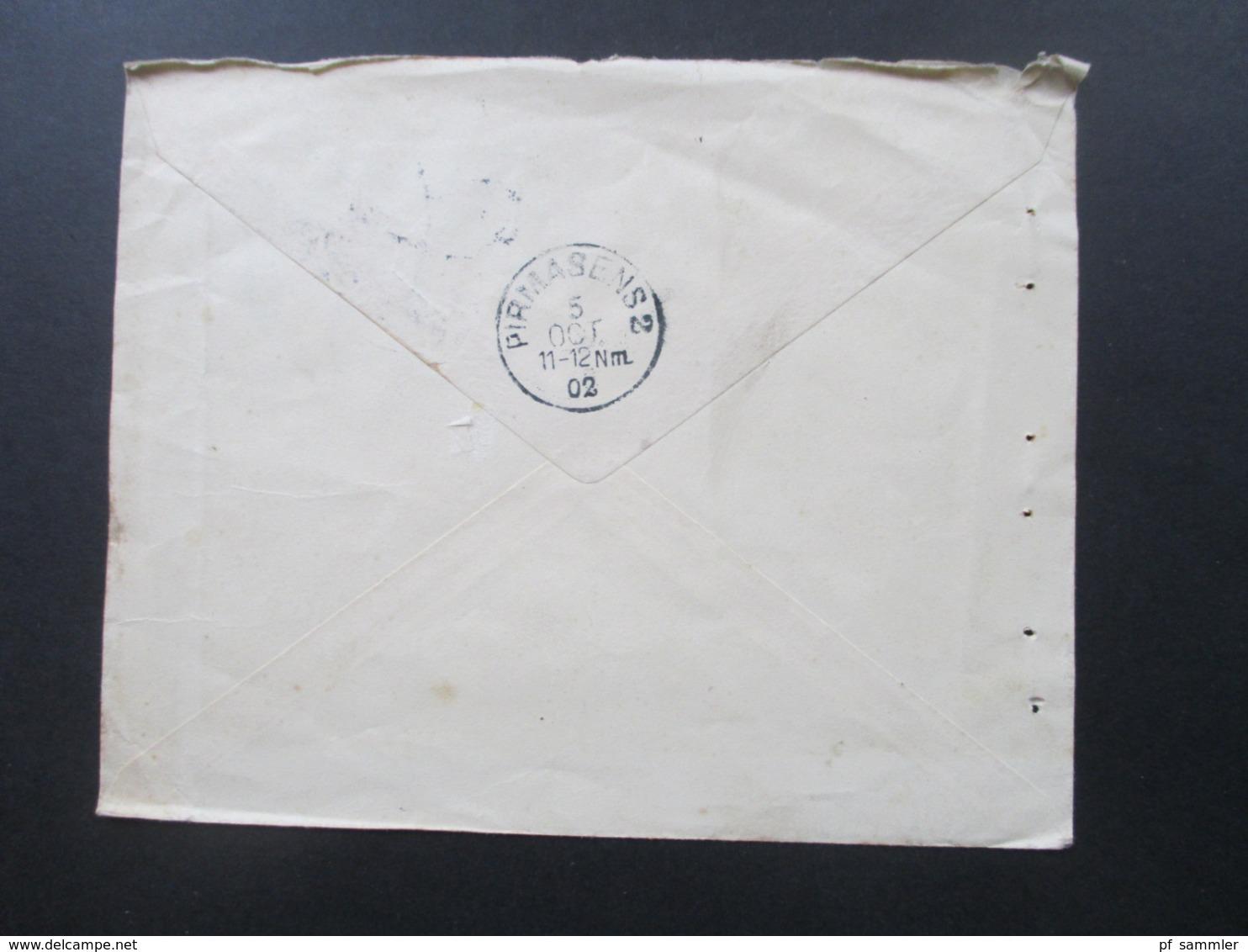 Dänemark 1902 Freimarken Wappen Im Oval Mit Perfin / Firmenlochung Danske Landmandsbank Vekselbank - 1864-04 (Christian IX)