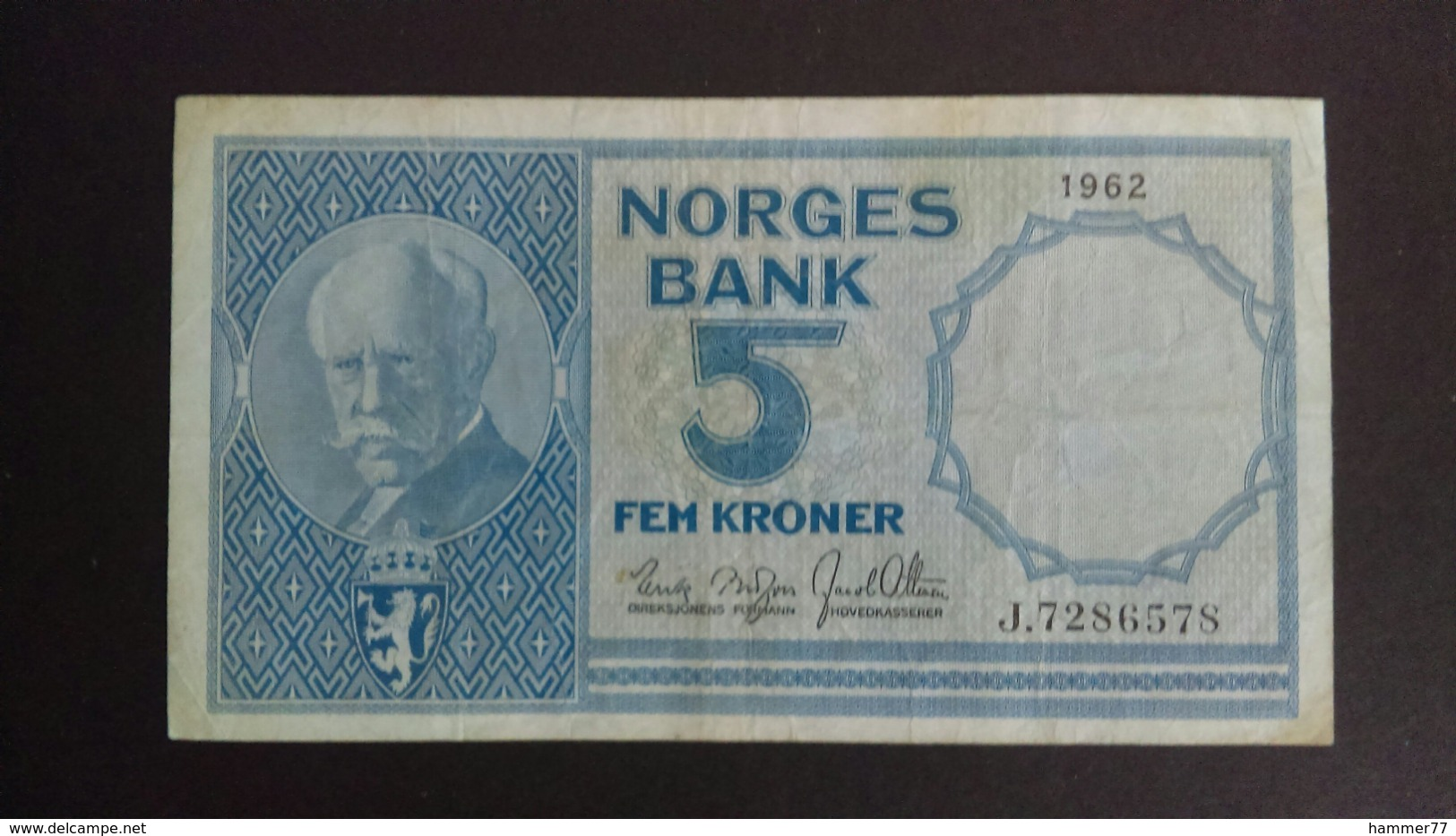 Norway 1962: 5 Kroner - Norway