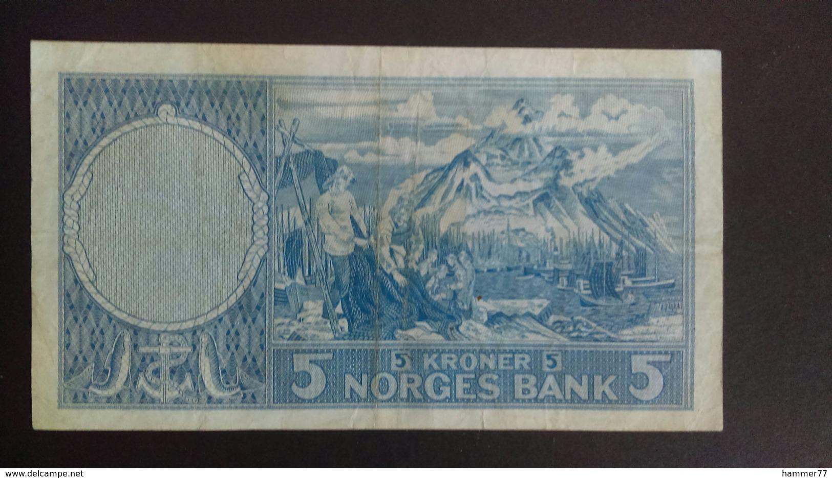 Norway 1962: 5 Kroner - Noorwegen