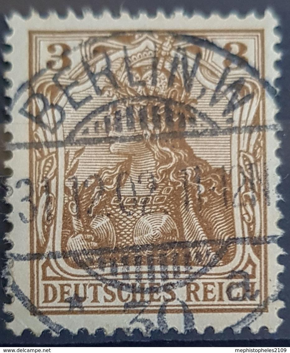 DEUTSCHES REICH 1902 - Nice BERLIN Cancel! - Mi 69 - 3pf - Oblitérés