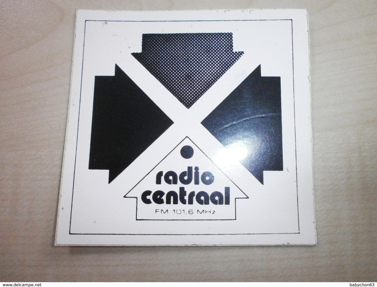 Autocollant Ancien RADIO CENTRAAL - Sonstige