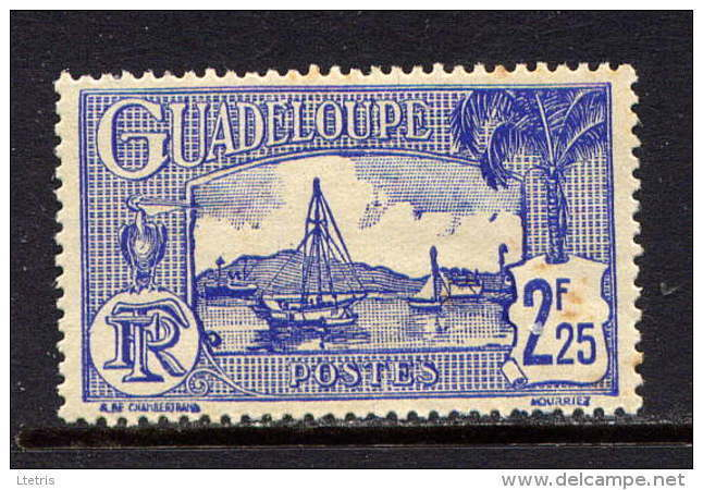 GUADELOUPE - 156** -  PORT DE POINTE A PITRE - Guadalupe (1884-1947)