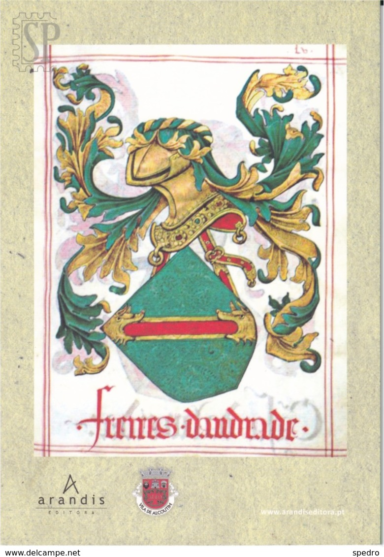 Portugal 2014 A Linhagem De João Freire De Andrade  1.º Senhor De Alcoutim Editora Arandis Brazão História - Libros, Revistas, Cómics