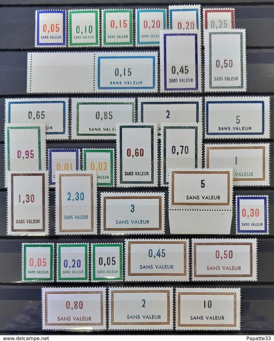 FRANCE - FICTIFS - Lot Années 1961 Et 1962 Luxe (voir Description) - Neufs SANS Charnière ** / MNH - Fictifs