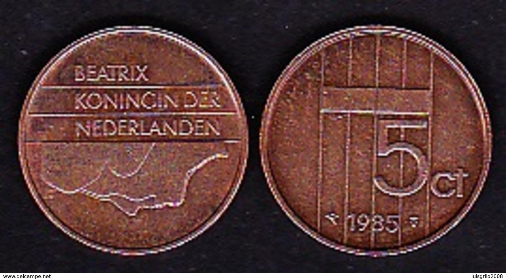 Netherland - 5 Cent / 1985 - 1980-…: Beatrix