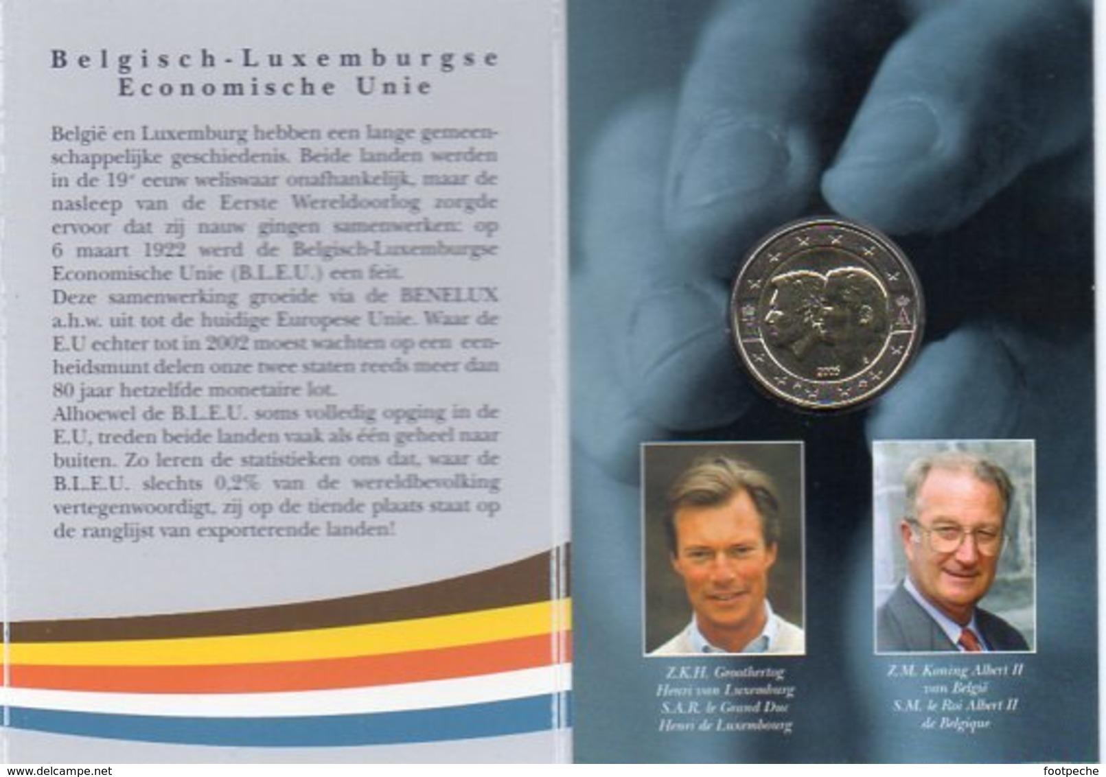 BELGIQUE COINCARD  BU 2005  20.000 EX  LOT N° 15 - Belgique