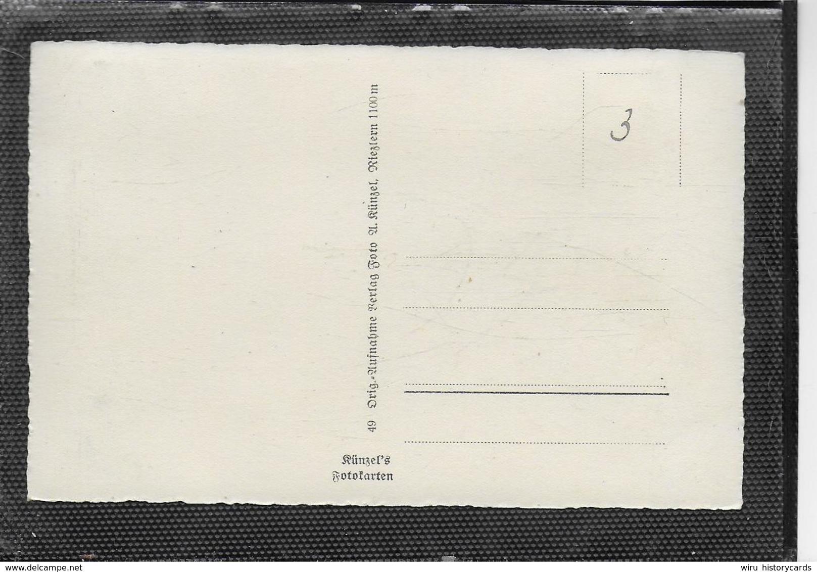 AK 0346  Riezlern Mit Nebelhorn - Verlag Künzel Um 1930-40 - Kleinwalsertal