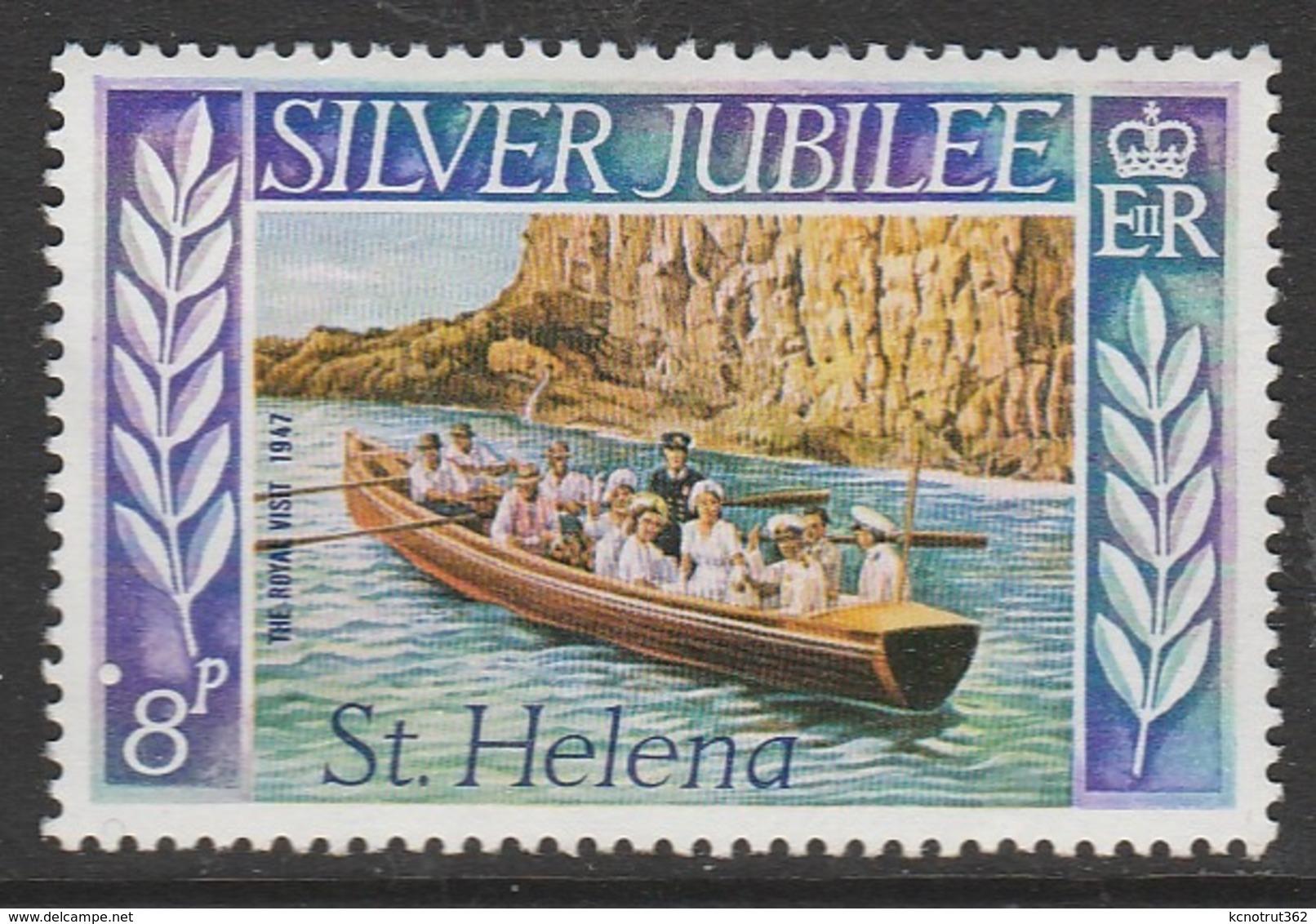 St Helena 1977 The 25th Anniversary Of Regency Of Queen Elizabeth II 8 P Multicoloured SW 306 ** MNH - Isola Di Sant'Elena