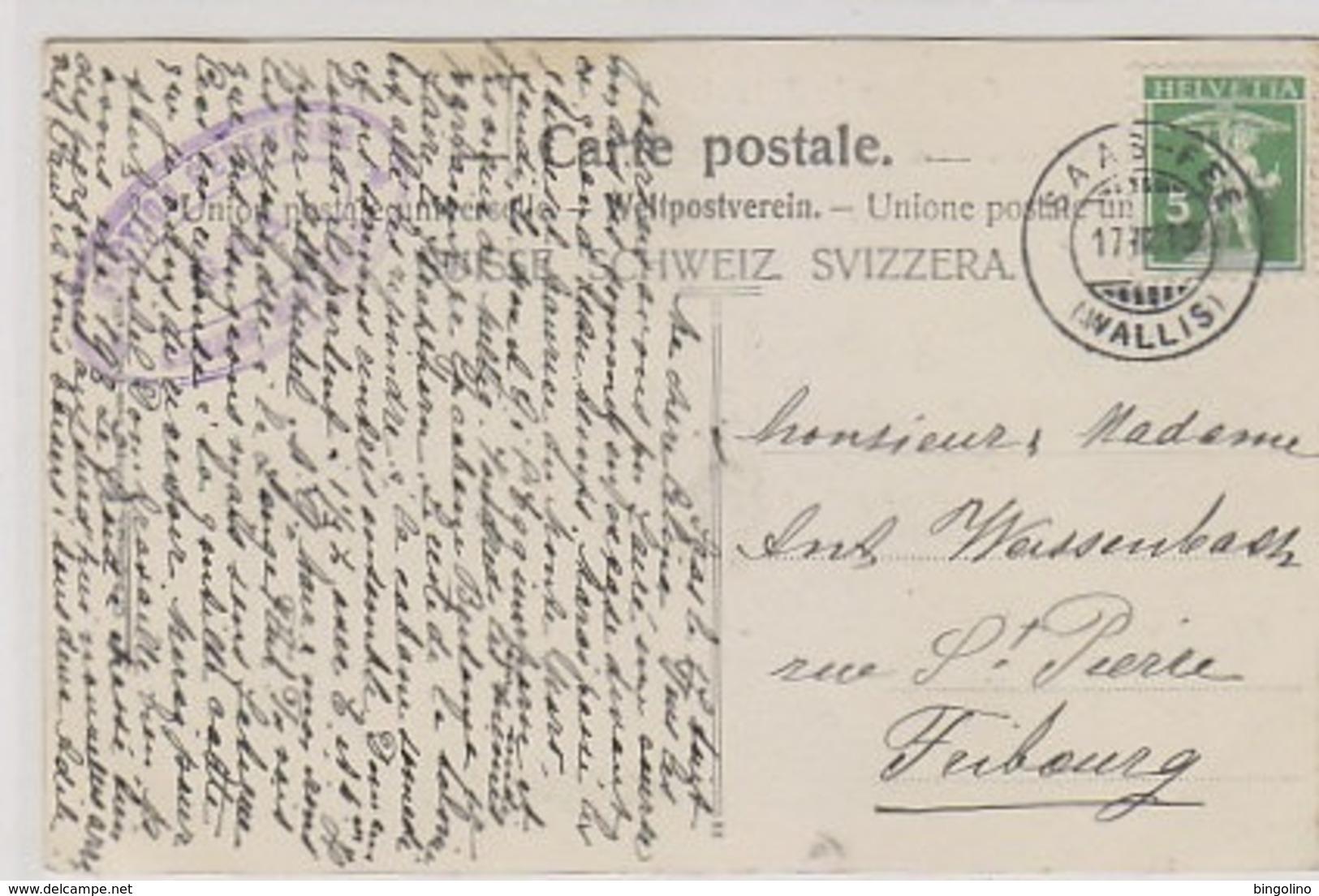 Einweihung Der Britannia-Hütte - Hüttenstempel           (P-182-80627) - VS Valais
