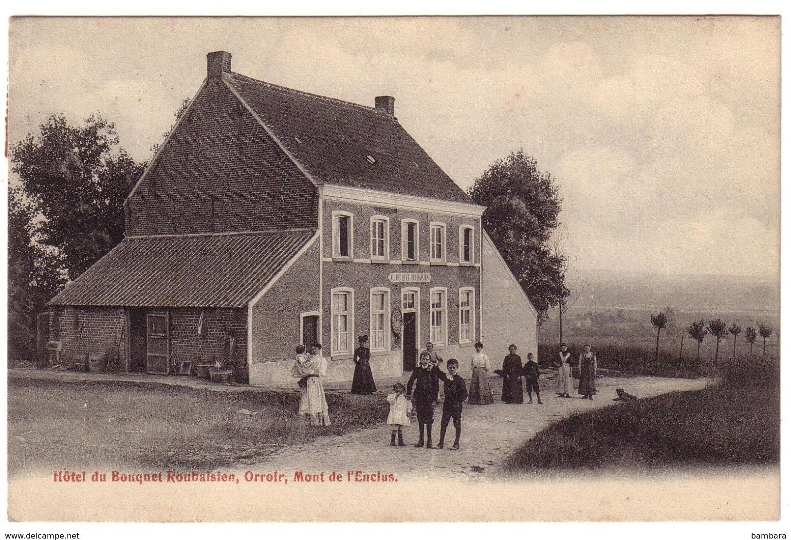 ORROIR - Hôtel Du Bouquet  Roubaisien. - Kluisbergen