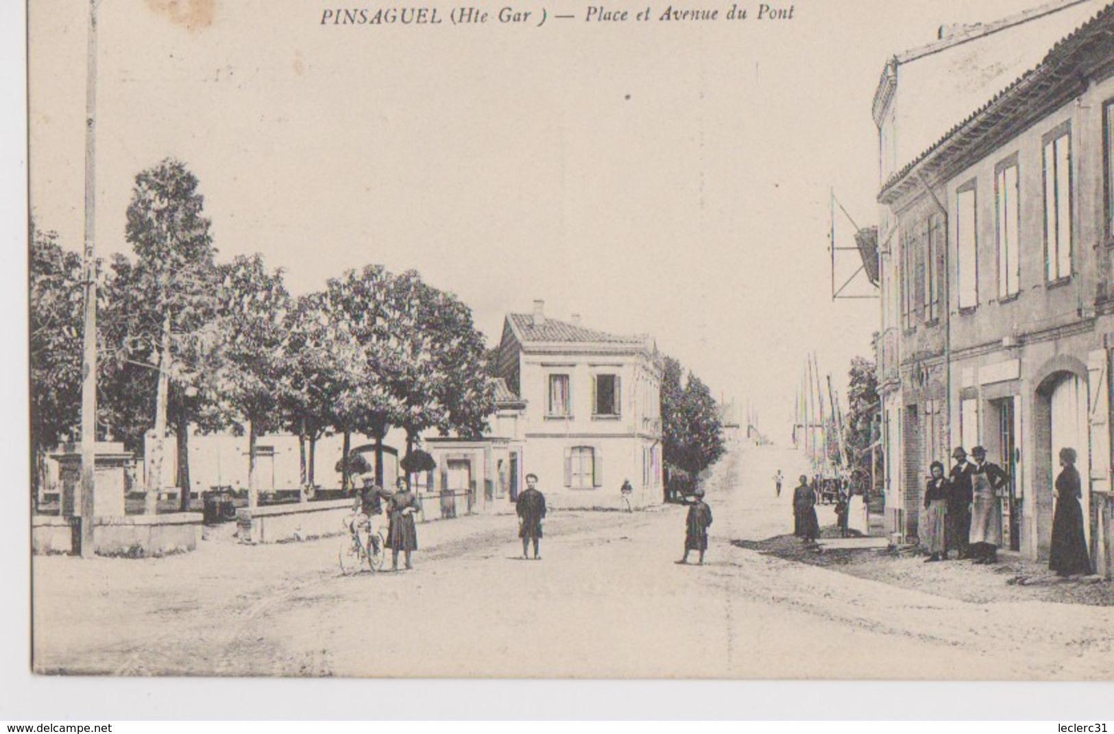 1 CPA    DE  PINSAGUEL - France