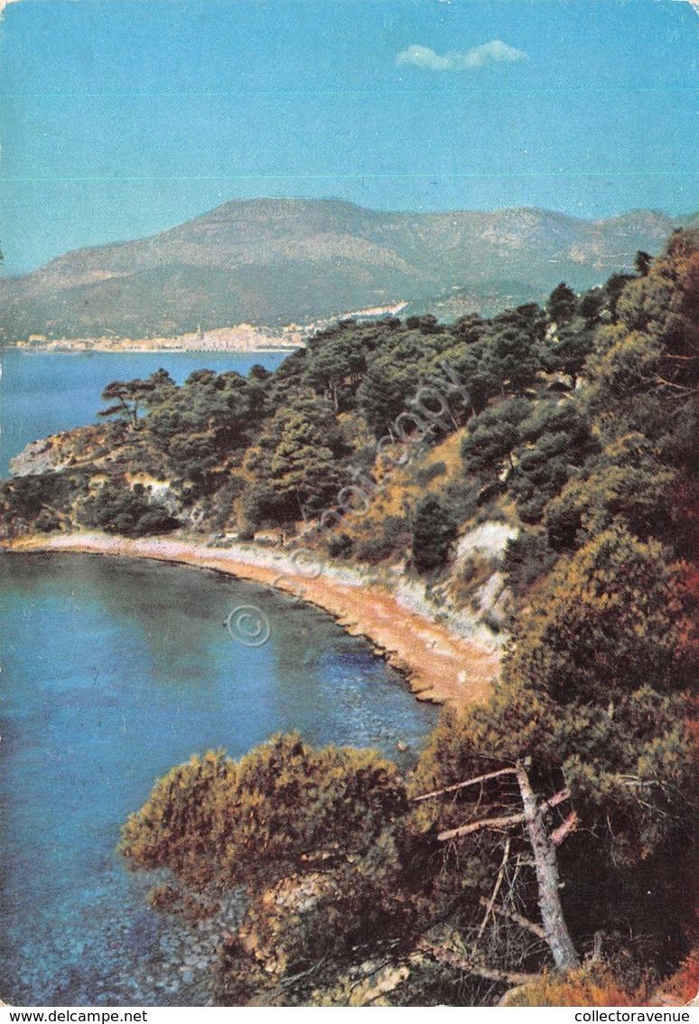 Cartolina Ventimiglia Spiaggia Della Mirona 1964 - Imperia