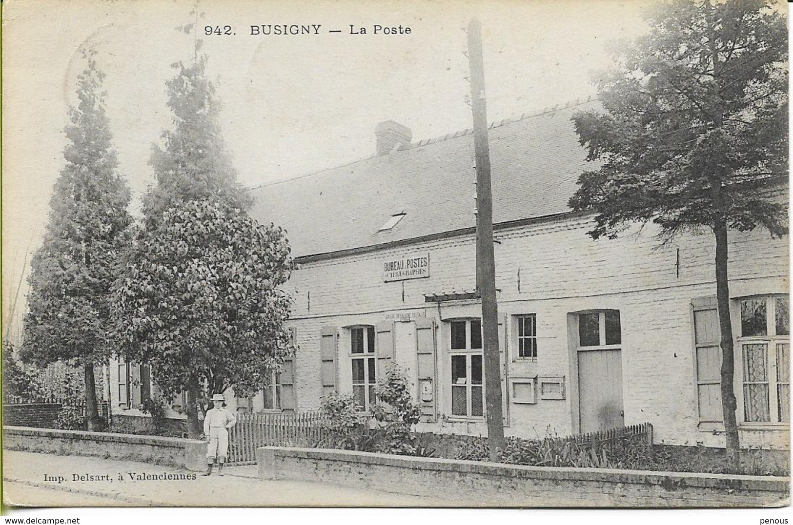 BUSIGNY  La Poste - Other Municipalities