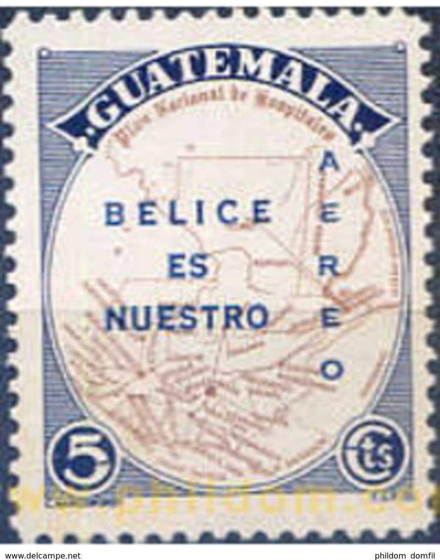 Ref. 321184 * MNH * - GUATEMALA. 1959. BELIZE IS OUR . BELIZE ES NUESTRO - Guatemala