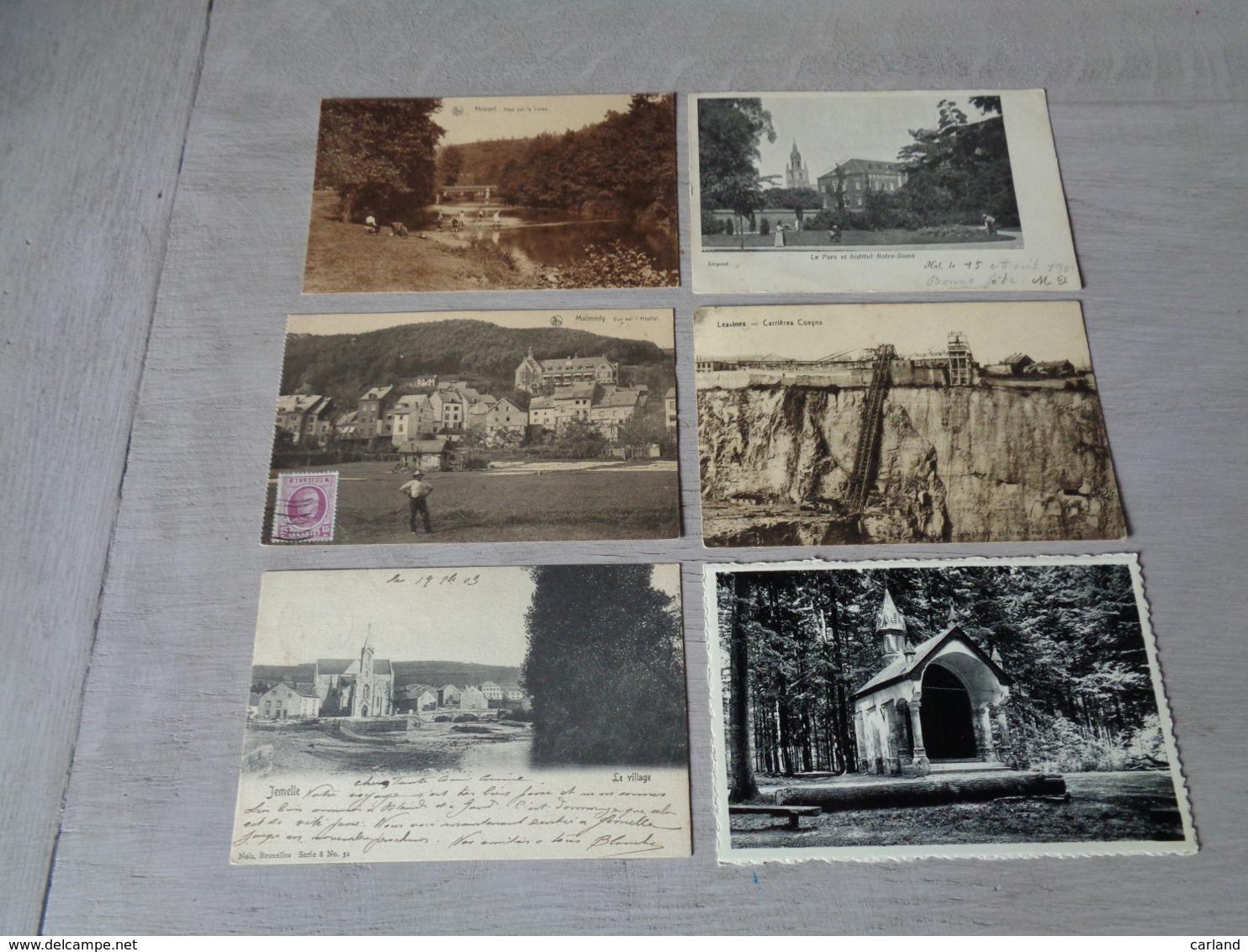 Beau Lot De 60 Cartes Postales De Belgique       Mooi Lot Van 60 Postkaarten Van België   - 60 Scans - 5 - 99 Postcards