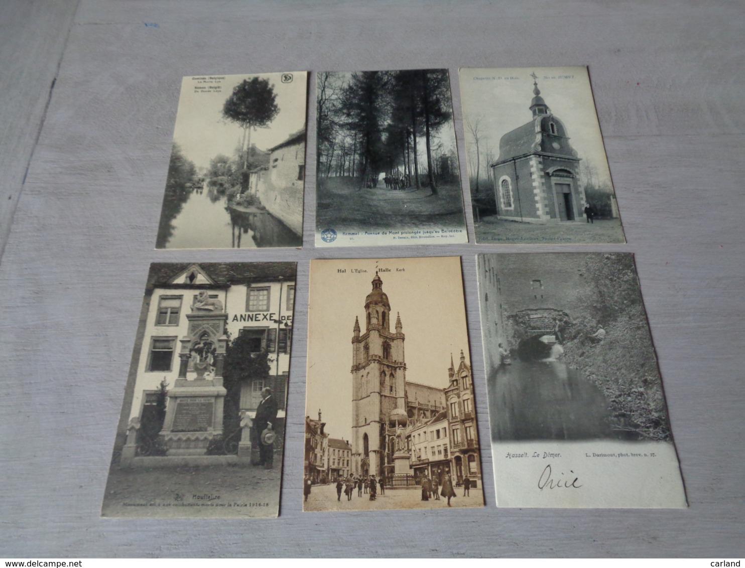 Beau Lot De 60 Cartes Postales De Belgique       Mooi Lot Van 60 Postkaarten Van België   - 60 Scans - 5 - 99 Cartes