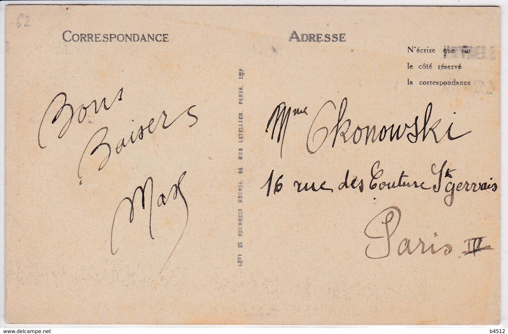 62 BERCK  Le Phare Et L'hôpital Maritime - Berck